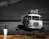 Beached Bus wallpaper mural kitchen preview