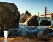 The Golden Gate Bridge wall mural kitchen preview