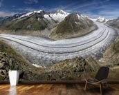 Aletschgletscher wall mural kitchen preview