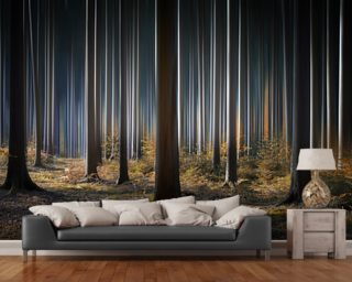 Mystic Wood mural wallpaper