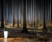 Mystic Wood mural wallpaper kitchen preview