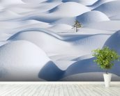 Standing in the Waves wall mural in-room view