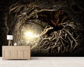 Under The Trees wallpaper mural living room preview