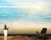 Sea and Sand Tranquility wall mural kitchen preview