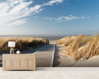 Beach Wallpaper Wall Murals Wallsauce USA