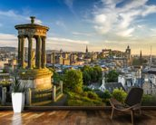 Edinburgh Castle from Calton Hill wall mural kitchen preview