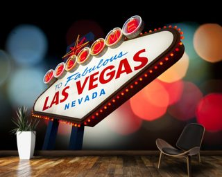 Las Vegas Wall Mural Wallpaper Wall Murals Wallpaper
