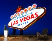 Las Vegas Sign wall mural kitchen preview