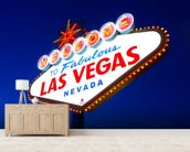 Las Vegas Sign wall mural living room preview