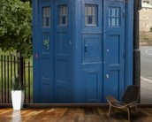 Tardis Police Box mural wallpaper kitchen preview