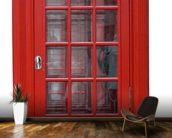 Old Red Phonebox wall mural kitchen preview