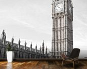 Big Ben and Houses of Parliament wallpaper mural kitchen preview