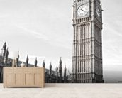 Big Ben and Houses of Parliament wallpaper mural living room preview