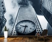 Canary Wharf Clock wall mural kitchen preview