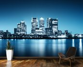 Canary Wharf from Greenwich. wall mural kitchen preview