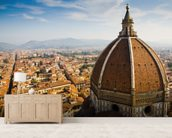 Florence Duomo wall mural living room preview