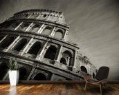Colosseum - Black and White wall mural kitchen preview