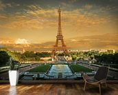 Eiffel Tower Paris wallpaper mural kitchen preview