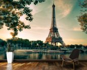 Tour Eiffel Paris France mural wallpaper kitchen preview
