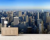 Manhattan Panoramic wall mural living room preview