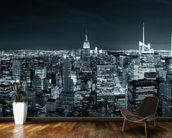 New York Manhattan Skyline wallpaper mural kitchen preview