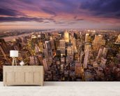 The Big Apple wallpaper mural living room preview