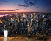 Manhattan Sunset mural wallpaper kitchen preview