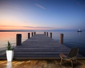 Jetty Sunset wall mural kitchen preview