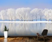 Winter Frost wall mural kitchen preview
