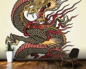 Asian Dragon Tattoo wall mural kitchen preview