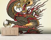 Asian Dragon Tattoo wall mural living room preview