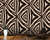Abstract Zebra Stripes. wall mural kitchen preview