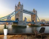 London Tower Bridge at Sunset mural wallpaper kitchen preview