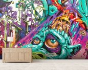 Graffiti - Creature wall mural living room preview