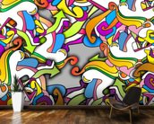 Graffiti - Zany wall mural kitchen preview