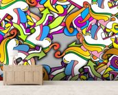 Graffiti - Zany wall mural living room preview