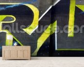 Graffiti - Techno wall mural living room preview