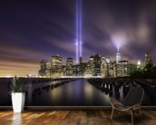 New York - Tribute Lights 9-11 mural wallpaper kitchen preview