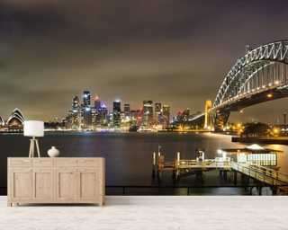 Sydney Harbour Bridge wallpaper mural
