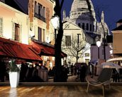 Montmartre in Winter wall mural kitchen preview