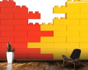 Lego Wall Effect wall mural kitchen preview