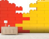 Lego Wall Effect wall mural living room preview