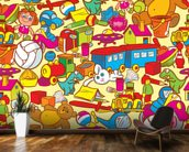 Toys wall mural kitchen preview