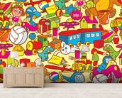 Toys wall mural living room preview