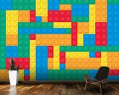 Lego Blocks Effect wall mural kitchen preview