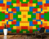 Lego Pattern Effect wallpaper mural kitchen preview