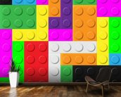 Lego Tetris Effect wall mural kitchen preview