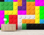 Lego Tetris Effect wall mural living room preview