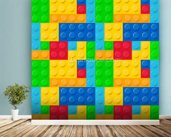 lego effect wallpaper wall mural wallsauce this lego wall mural is an epic tribute to video games