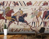 Bayeux tapestry - Norman invasion of England mural wallpaper kitchen preview